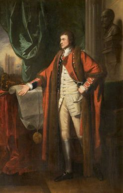 Sir Richard Grosvenor (1731-1802) | Benjamin West | Oil Painting