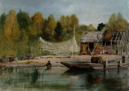 On the River Itchen | Frederick Waters Watts | Oil Painting