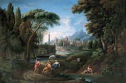 Classical Italian Landscape | Hendrik Frans van Lint | Oil Painting