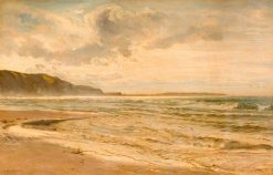 Grey Morning on the Beach | Henry Moore | Oil Painting