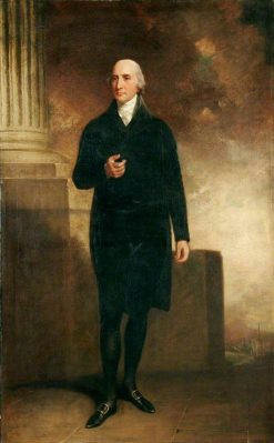 The Right Honourable William Windham | John Hoppner | Oil Painting