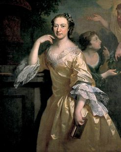 Elizabeth Carter   Joseph Highmore   Oil Painting