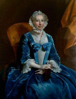 Mrs Iremonger of Wherwell Priory | Joseph Highmore | Oil Painting