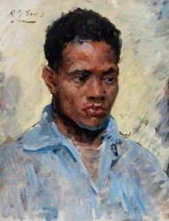 African Portrait No.2 | Reginald Grenville Eves | Oil Painting