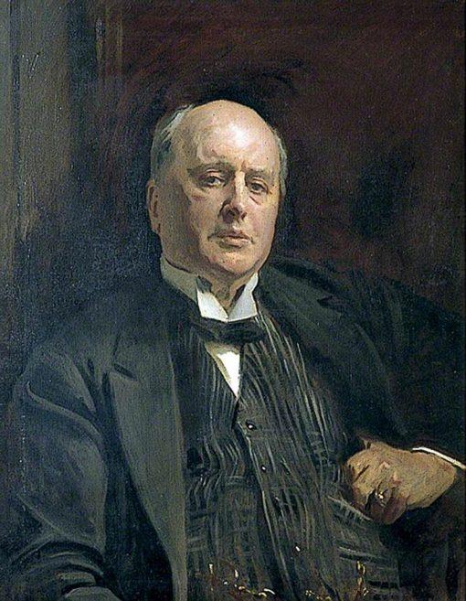 Henry James (1843-1916) (copy after John Sargent)   Reginald Grenville Eves   Oil Painting