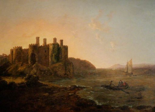 Conwy Castle   Richard Wilson