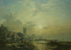 Dysart Harbour | Samuel Bough | Oil Painting