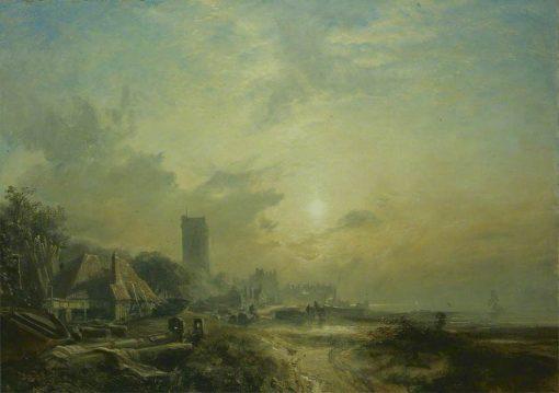 Dysart Harbour | Samuel Bough | Oil Painting