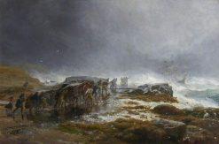 The Rocket Cart | Samuel Bough | Oil Painting