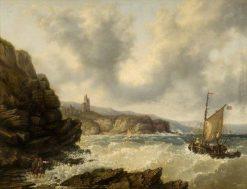 Off the Scottish Coast | Samuel Bough | Oil Painting