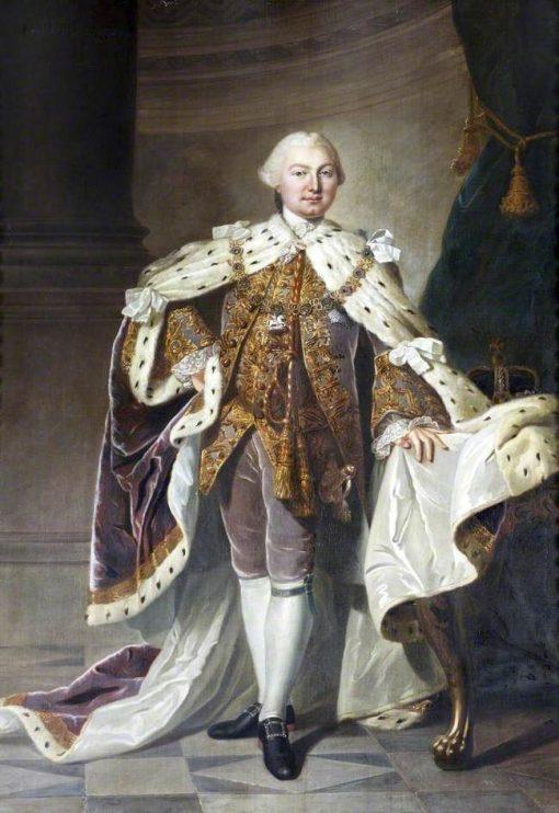 George III (1738-1820) | Sir Joshua Reynolds | Oil Painting