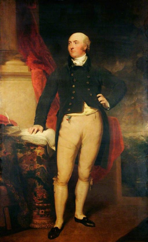 Thomas William Coke (1752-1842) | Thomas Lawrence | Oil Painting