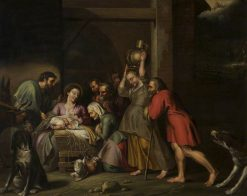 The Nativity (copy after Peter Paul Rubens) | Willem van Herp the Elder | Oil Painting