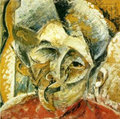 Dynamism of a Woman's Head | Umberto Boccioni | Oil Painting