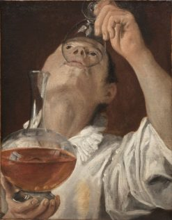 Boy Drinking | Annibale Carracci | Oil Painting