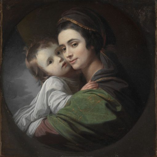 Elizabeth Shewell West and Her Son