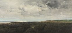 Villerville seen from Le Ratier | Charles Francois Daubigny | Oil Painting