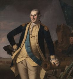 George Washington at the Battle of Princeton | Charles Willson Peale | Oil Painting