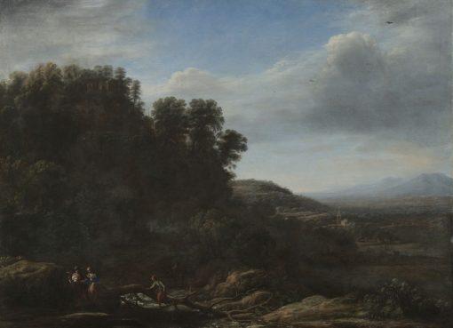 Italian Landscape | Claude Lorrain | Oil Painting