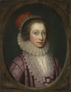 Portrait of a Woman | Cornelis Janssen van Ceulen the Elder | Oil Painting