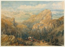 Descent into the Plain of Granada | David Roberts | Oil Painting
