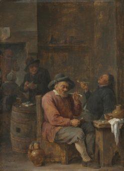 Peasants Smoking in an Inn | David Teniers II | Oil Painting