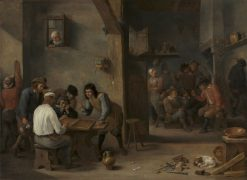 Game of Backgammon | David Teniers II | Oil Painting