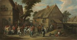 Village Festival | David Teniers II | Oil Painting