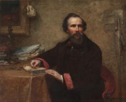 Portrait of Genio C. Scott | Eastman Johnson | Oil Painting