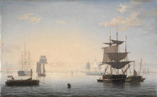 Harbor of Boston