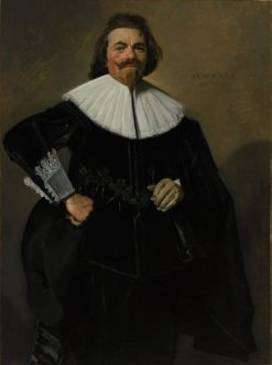 Portrait of Tieleman Roosterman | Frans Hals | Oil Painting