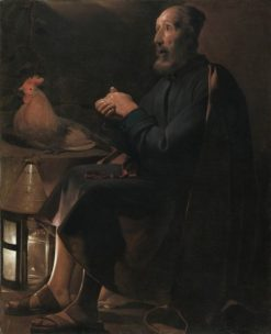 Saint Peter Repentant | Georges de La Tour | Oil Painting