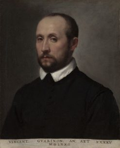 Portrait of Vincenzo Guarignoni | Giovanni Battista Moroni | Oil Painting