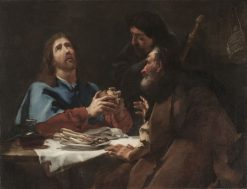 The Supper at Emmaus | Giovanni Battista Piazzetta | Oil Painting