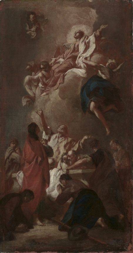 "Sketch for ""The Assumption of the Virgin"" 