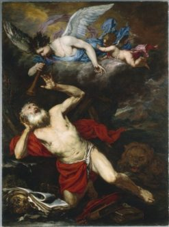 The Vision of Saint Jerome   Giovanni Langetti   Oil Painting