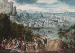 Landscape with Saint John the Baptist | Herri met de Bles | Oil Painting
