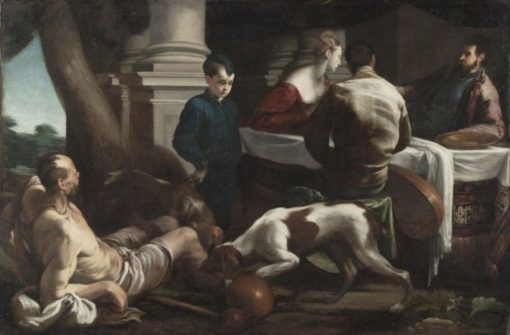 Lazarus and the Rich Man | Jacopo Bassano | Oil Painting