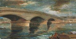 London Bridge | James Holland | Oil Painting