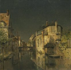 Midnight | Jean Charles Cazin | Oil Painting