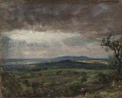 Hampstead Heath Looking toward Harrow | John Constable | Oil Painting