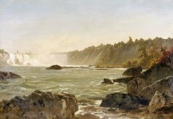 View of Niagara Falls | John Frederick Kensett | Oil Painting