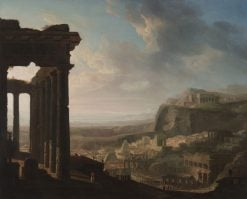 Ruins of an Ancient City | John Martin | Oil Painting