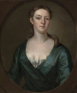 Portrait of a Woman (possibly Judith Colman Bulfinch) | John Smibert | Oil Painting