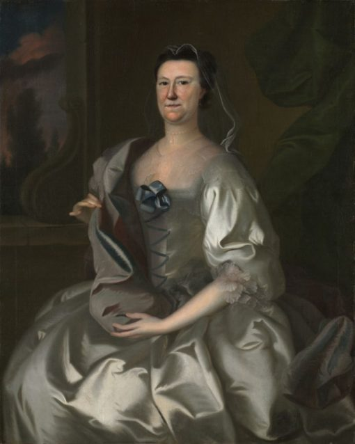 Hannah Wentworth Atkinson   Joseph Blackburn   Oil Painting