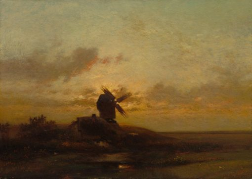 The Windmill | Jules DuprE | Oil Painting