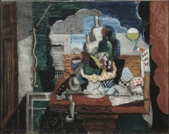 Night Cafe | Louis Marcoussis | Oil Painting