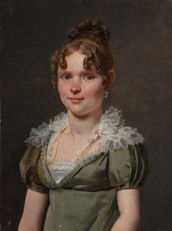 Madame Nicola Louis Faret | Martin Drölling | Oil Painting