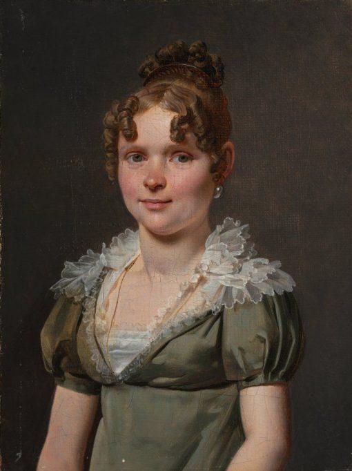 Madame Nicola Louis Faret   Martin Drölling   Oil Painting