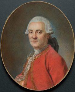 Portrait of a Man | Maurice Quentin de La Tour | Oil Painting